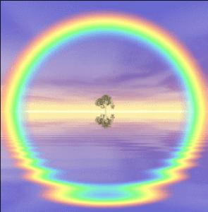 arcoirisconreflejo